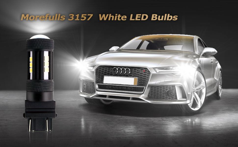 Morefulls 3157 white led bulbs