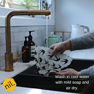 Beeswax food wraps by NIL the maker