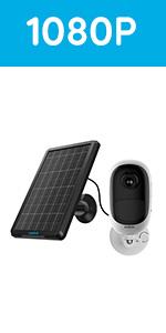 solar battery camera