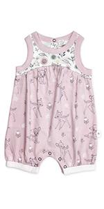 finn and emma, romper, organic baby clothes, one piece, playsuit, newborn, infant, disney