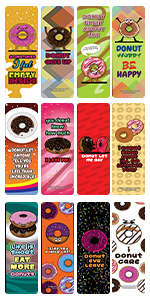 Funny Donuts Sayings Bookmarks