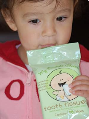 baby toddler tooth tissues teeth cleaning wipes