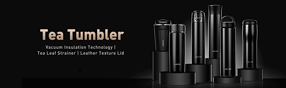 tea thermos tumbler for hot cold tea coffee