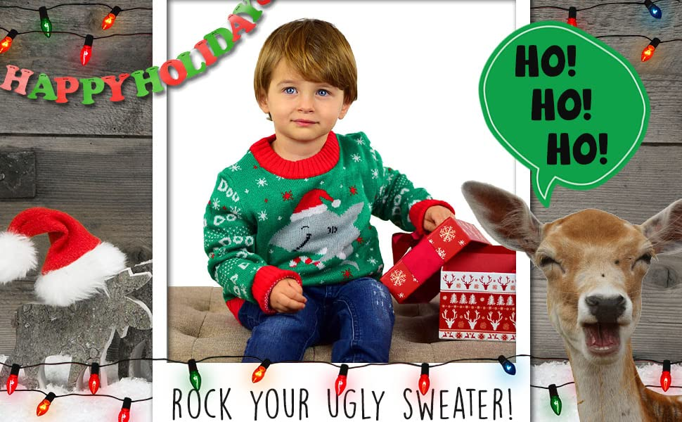 ugly Christmas sweater for kids ugly Christmas sweater for toddlers