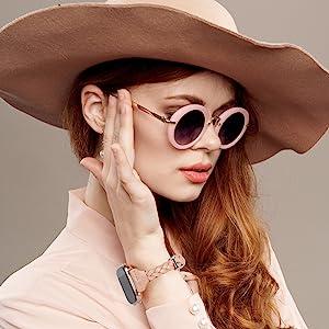 Leather Bands Fitbit Versa 2 Lite Special Edition Women Slim Handmade Weave Braided Strap Bracelet