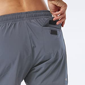 womens 5 inch inseam pocket running shorts
