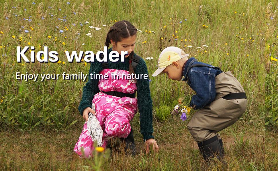 NEYGU Kids Waders
