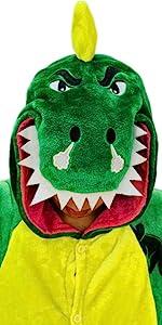 dinosaur onesie pajamas for adults teens trex t rex halloween christmas costumes