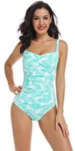 Women's Tummy Control 1 Piece Swimsuit