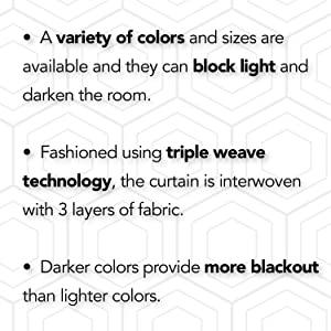 blackout curtains hexagon football silver grommet window drapes