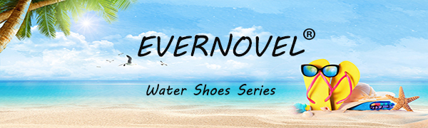 EVERNOVEL mesh breathable water shoes series
