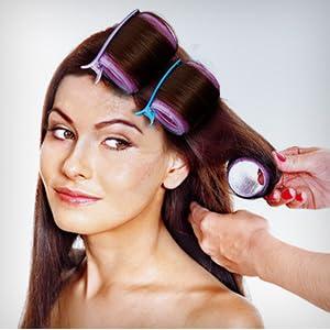 Self Grip Heatless Hair Rollers Set
