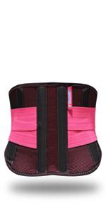 Waist Trainer Belt Red