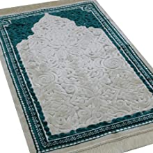 Modefa Sina Islamic Prayer Rug Turkish carpet mat janamaz sajjadah