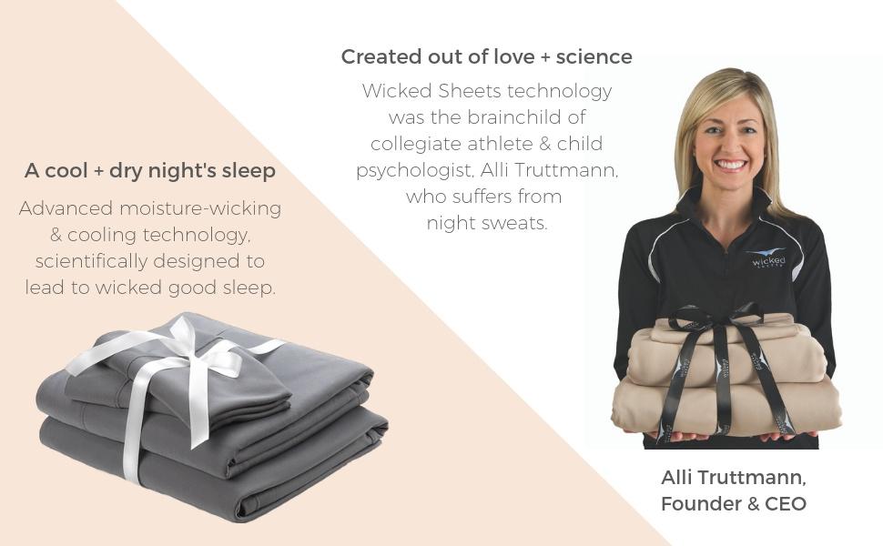 cool dry night sleep moisture wicking quick dry technology night sweats athlete performance bedding
