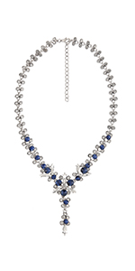 Metme 1920s Gatsby Imitation Pearl Necklace