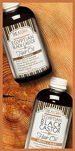 Egyptian Black Castor Oil Collection