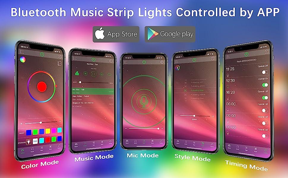 APP led strip light