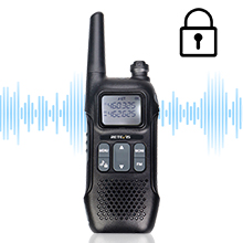 scramble FM walkie talkie