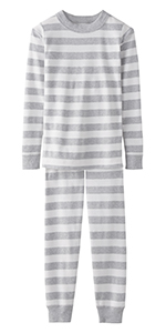 Hanna Andersson Kids Organic 2-Piece Long Sleeve Pajama Set