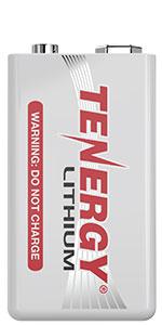 Tenergy Lithium 9V