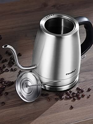 gooseneck stainless steel electric kettle