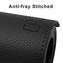 Anti-fray Stitched