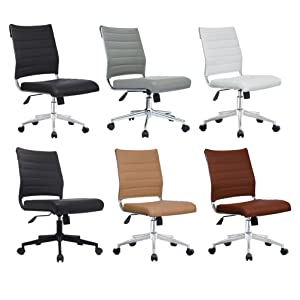 office chair, ribbed