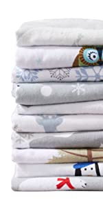 Stratton Flannel Sheets