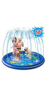 Sprinkler Splash Pad for Kids