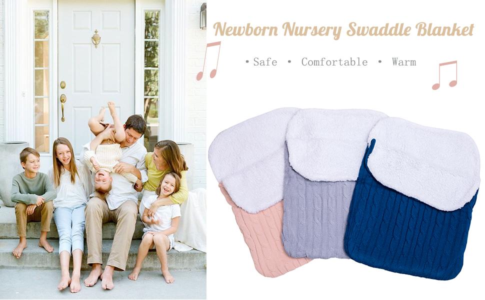newborn swaddle blanket wraps infant baby girl banket nersury blanket receivng blankets winter cloth