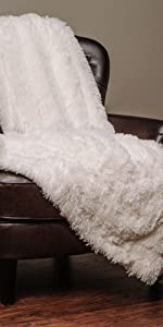 white throw