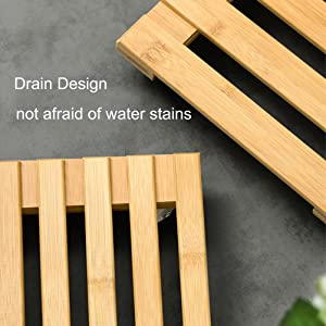 water stain free