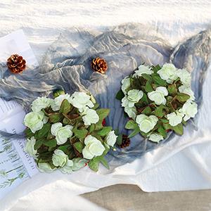 artificial silk flower garland