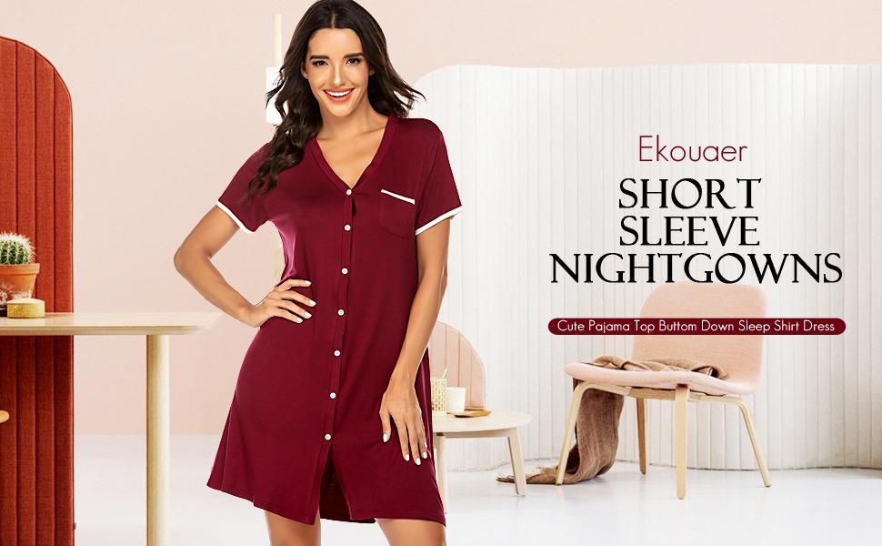 Wine Red Sleepwear