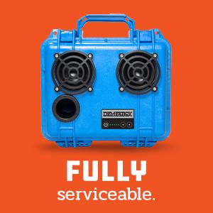Serviceable Repairable Fixable Outdoor Waterproof Bluetooth Speaker