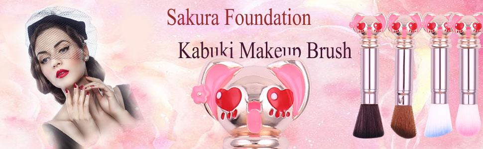 Sakura Foundation Kabuki Makeup Brush