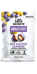 sea salted almond pieces