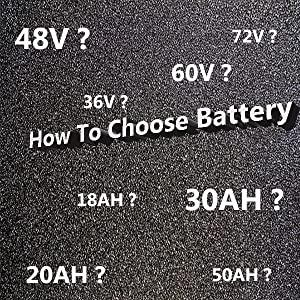 how to choice ebike battery