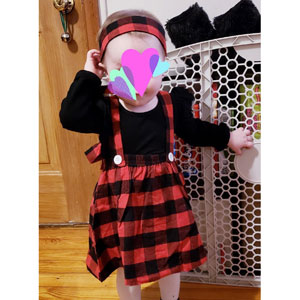 Suspender Skirt make you baby so cute!