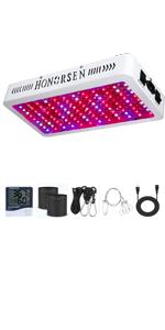 HONORSEN 1200W LED grow light