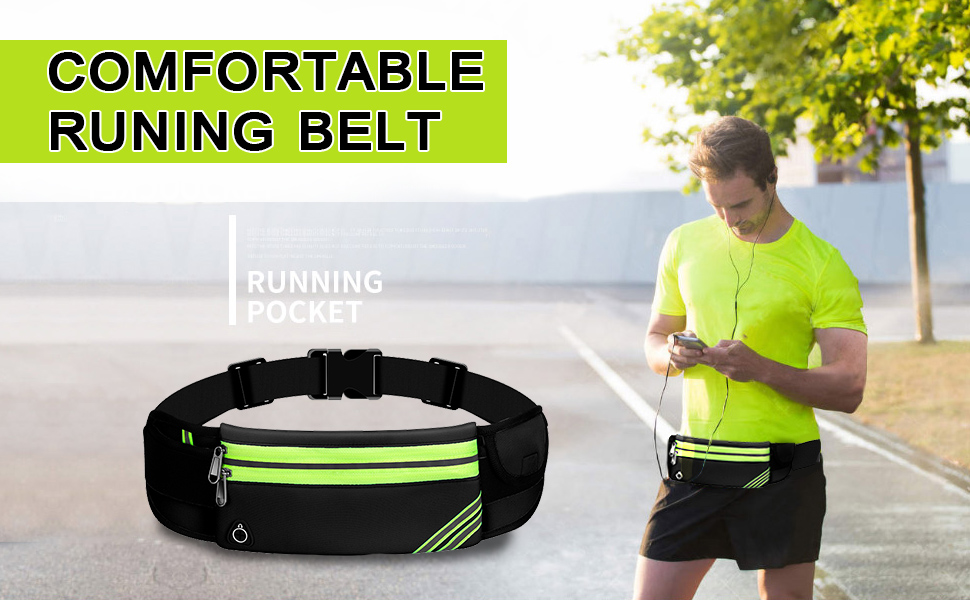Comfortable Running Belt