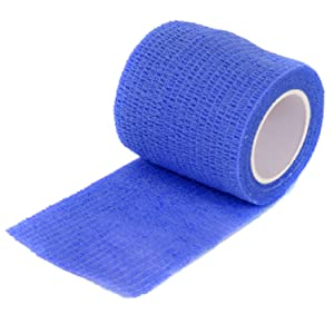 blue unrolled