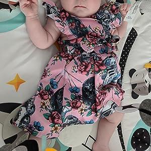 Baby Girls One-Piece Romper