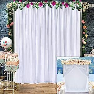 Tulle Backdrop Curtain