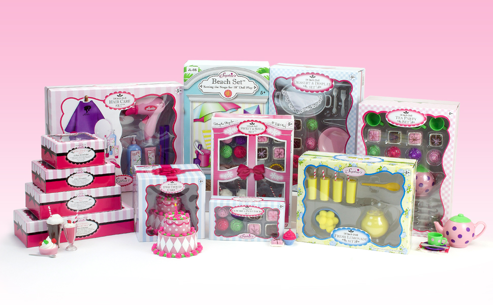 play sets, doll toys