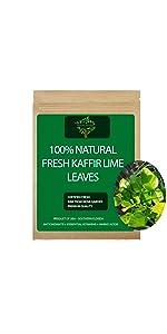 Fresh Kaffir Lime Leaves, Kaffir Lime tea