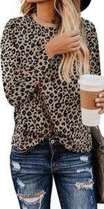 womens leopard tops