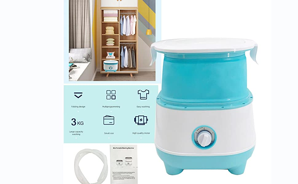 Portable Foldable Washing Machine