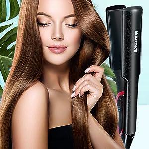 Ceramic Tourmaline Hair Straightener - safe and not hurt your hair
